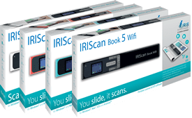 IRIScan Book